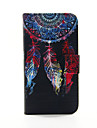 For Samsung Galaxy Case Wallet / Card Holder / with Stand / Flip Case Full Body Case Dream Catcher PU Leather SamsungS6 edge plus / S6