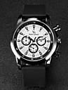 V6 Мужской Наручные часы Кварцевый Японский кварц Pезина Группа Черный
