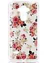 용 LG케이스 패턴 케이스 뒷면 커버 케이스 꽃장식 소프트 TPU LG LG G4 스타일러스 / LS770