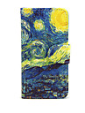 Starry Night PU Leather Full Body Case with Stand for Sony Xperia M4 Aqua