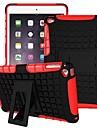 miitary 군대 플라스틱 + 실리콘 고무 젤 2 아이 패드 공기 스탠드 덮개 1 충격 방지 하드 케이스에 (모듬 색상)