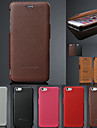 Genuine Leather Litchi Pattern Left Right Full Body Cases Phone Protective Shell for iPhone 6/6S 4.7 inch