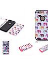 Pour Coque iPhone 6 / Coques iPhone 6 Plus Antichoc / Impermeable / Etanche a la Poussiere Coque Coque Integrale Coque Elephant Flexible