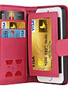de ji magnetica 2 em 1 capa de luxo carteira de couro do caso da aleta + entalhe do dinheiro + moldura caixa do telefone para iPhone 5 /