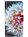Pour Samsung Galaxy Coque Portefeuille / Porte Carte / Avec Support / Clapet Coque Coque Integrale Coque Plume Cuir PU SamsungS6 / S5
