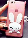 Pour Coque iPhone 6 Coques iPhone 6 Plus Avec Support Coque Coque Arriere Coque Dessin Anime 3D Flexible PUT pouriPhone 6s Plus/6 Plus