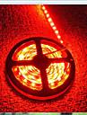 LED diodes emettant de la lumiere bande de lumiere 3528SMD 600led IP65 etanche DC12V multiples couleurs 5m / lot