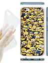 Для Кейс для iPhone 6 / Кейс для iPhone 6 Plus С узором Кейс для Задняя крышка Кейс для Мультяшная тематика Мягкий TPUiPhone 6s Plus/6