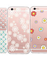 For iPhone 5 Case Pattern Case Back Cover Case Tile Soft TPU iPhone SE/5s/5