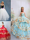 Princess Dresses For Barbie Doll Dresses For Girl\'s Doll Toy