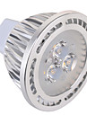 GU5.3(MR16) 5W 3 x 3030 SMD 450 LM Warm White / Cool White MR16 Decorative Spot Lights AC 85-265 / AC 12 V