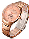 Men's Watch Rose Tungsten Steel Alloy Thin Waterproof Explosion Of Commercial Quartz Watch Cool Watch Unique Watch