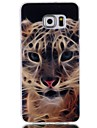 Tiger Pattern Blu-ray TPU Soft Back Cover Case for Galaxy S6/ S6 Edge/S6 Edge Plus/S3/S4/S5