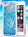 прозрачно динамический жидкость блеск красочные блестка песок зыбучие пески задняя крышка чехол для Iphone 6 плюс / 6S плюс