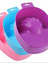 1pcs bol mousse de main outil de manucure manucure avec un bol de soins des mains ramollissement couleur cutine livraison aleatoires