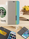 For iPhone 6 Case / iPhone 6 Plus Case Card Holder / with Stand Case Full Body Case Solid Color Hard PU LeatheriPhone 6s Plus/6 Plus /
