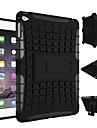 nouvelle armure lourds stand avec protection double choc de couleur preuve cas de couverture pour l\'ipad mini 4 (couleurs assorties)