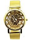 Men's Round Dial Alloy Band Quartz Analog Wrist Watch Cool Watch Unique Watch