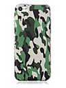 Camouflage Pattern Waves Slip Handle TPU Soft Phone Case for iPhone 5C