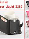 Para Capinhas Acer Porta-Cartao / Com Suporte / Flip Capinha Corpo Inteiro Capinha Cor Unica Rigida Couro PU para Acer