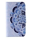 Blue and White Porcelain Painted PU Phone Case for Galaxy Grand Prime/Core Prime/J5/J1/J1 Ace/J2