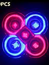 10w complete du spectre de 10pcs e27 / gu10 3RED + 2blue LED lampes pour systeme de culture hydroponique de fleurs de plantes