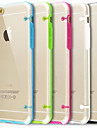 ultra transparent cas de couverture pour iPhone 6 plus (couleurs assorties)