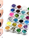 24 Manucure De oration strass Perles Maquillage cosmetique Nail Art Design