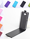For Nokia Case Flip Case Full Body Case Solid Color Hard PU Leather Nokia Nokia Lumia 950 / Other