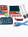 3D Printer Controller RAMPS 1.4 + Mega2560 R3 + 5 x A4988 + LCD12864 Controller Board for 3D Printer