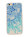 Para iPhone 8 iPhone 8 Plus iPhone 6 iPhone 6 Plus Case Tampa Estampada Capa Traseira Capinha Mandala Macia PUT para iPhone 8 Plus iPhone