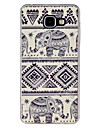 For Samsung Galaxy Case Pattern Case Back Cover Case Elephant TPU Samsung A7(2016) / A5(2016) / A3(2016) / A9