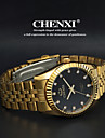 CHENXI®Men's Classic Business Style Gold Steel Strap Quartz Watch Cool Watch Unique Watch Fashion Watch