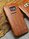 Natural Wood Samsung Case Carving Concavo Convex Hard Back Cover for Galaxy S6 edge+/S6 edge/S6