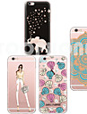 Pour Coque iPhone 6 / Coques iPhone 6 Plus Transparente / Motif Coque Coque Arriere Coque Dessin Anime Flexible TPUiPhone 6s Plus/6 Plus