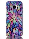 For Samsung Galaxy S7 Edge Pattern Case Back Cover Case Geometric Pattern PC Samsung S7 edge / S7