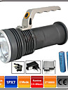 Lights LED Flashlights/Torch LED 1000 lumens Lumens 3 Mode - 18650 Waterproof / Rechargeable / Impact ResistantCamping/Hiking/Caving /