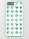 Pour Coque iPhone 6 Coques iPhone 6 Plus Motif Coque Coque Arriere Coque Carreaux Dur Polycarbonate pour iPhone 6s Plus/6 Plus iPhone 6s/6