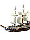 Rompecabezas Puzzles 3D Bloques de construccion Juguetes de bricolaje Enviar Papel Marron / Blanco Modelismo y Construccion