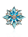 Alloy/Acrylic/Rhinestone Brooch/Korea Fashion Double FlowerBrooch/Daily/Party/Casual 1pc