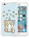 Pour Coque iPhone 6 Coques iPhone 6 Plus Antichoc Motif Coque Coque Arriere Coque Dessin Anime Flexible Silicone pouriPhone 6s Plus/6