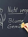 초크보드 벽 스티커 칠판 벽스티커 데코레이티브 월 스티커,비닐 자료 홈 장식 벽 데칼