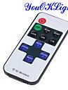 youoklight® mini-rf 433.92 MHz unica cor tira conduzida dimmer conjunto controlador - branco + vermelho + preto (DC 12 ~ 24V)