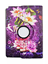 360 Rotate Flower Painted PU Leather Case For Samsung Galaxy Tab A 9.7 T550 tablet case