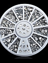 1wheel Mix Shapes Rhinestone Nail Art Decorations