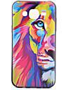 Lion Pattern TPU Phone Case For Samsung Galaxy J1 /Galaxy J5 / G5308 / G360