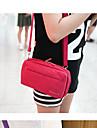 Capanga Portatil Organizadores para Viagem para Feminino Portatil Organizadores para Viagem Tecido-Laranja Azul Escuro Roxo Rosa Cinza