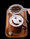 12PCS Plastic Fancy Coffee Making Printing Model Minimalist Design Dusting Pad