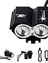 Headlamps / Bike Lights / Front Bike Light LED 5000 Lumens 4 Mode Cree XM-L T6 Waterproof / Rechargeable / Emergency Cycling/BikeAluminum