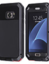 Logrotate® aluminium resistant a l\'eau casque en verre anti gorille anti-choc pour samsung galaxy s7 s6 s5 edge plus